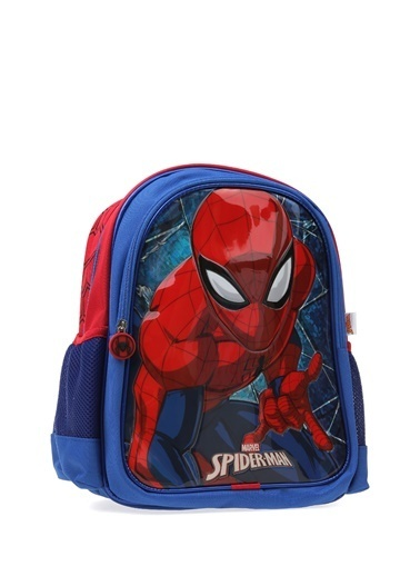 Koton Koton İki Gözlü Spiderman  Sırt Çantası Lacivert